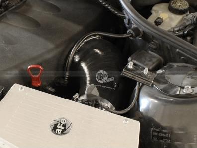 aFe MagnumFORCE Black Intakes Torque Booster Tube BMW (E46) M3 (L6-3 2L)  2001-2007