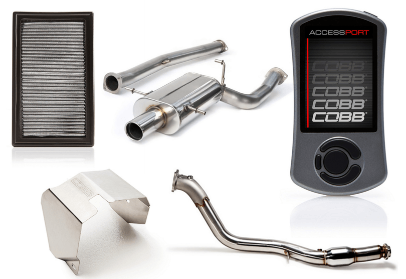 Cobb Tuning Stage 2 Power Package w/ V3 Accessport Subaru WRX 2002-2005