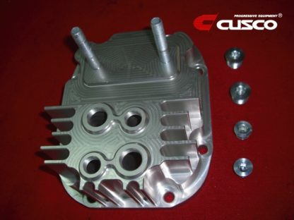 Cusco Rear Differential Cover Silver Increased Capacity Subaru Impreza WRX STI (R180 End)