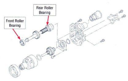 Subaru OEM R160 Diff Roller Bearing
