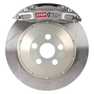 Stop Tech Silver Caliper Big Brake Kit for 04-07STi
