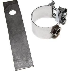 AEM No-Weld O2 Sensor Mounts - 2.25 to 2.5 inch Diameter - Universal