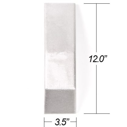 ATP Blanked Cast End Tank for Welded Applicaton 12-in Tall x 3.5-in Thick (One End Tank) - Universal