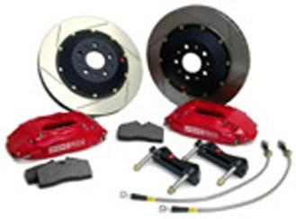 Stoptech 2005+ Legacy GT 332mm 4 wheel Big Brake Kit