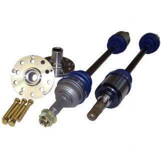 Driveshaft Shop Rear Axle/Hub Kit 92-01 (GC8) / 02-07 WRX with STi
