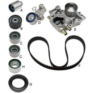 Gates Performance Racing Timing Component Kit w/ Water Pump WRX 2008-2014 / Forester XT 2008-2013