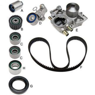 Gates Timing Belt Kit w/ Water Pump  2008-2013 Forester XT / 2008-2014 WRX