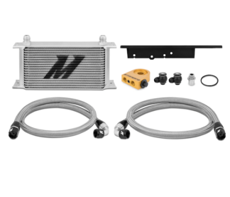 Mishimoto Oil Cooler Kit - Thermostatic 03-09 Nissan 350Z / 03-07 Infiniti G35 (Coupe Only)