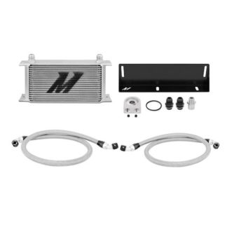 Mishimoto Silver Oil Cooler Kit 1979-1993 Ford Mustang 5.0L