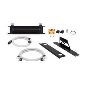 Mishimoto Black Thermostatic Oil Cooler Kit 2002-2005 Subaru WRX / STi