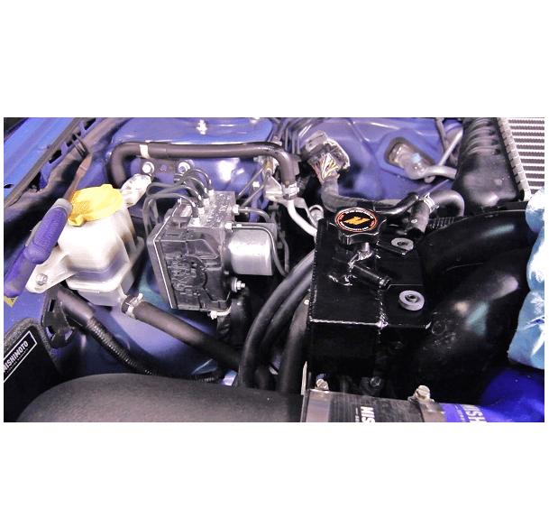 Mishimoto Aluminum Coolant Expansion Tank Black Subaru WRX 2008-2014 /  Legacy GT 2005-2009 / Forester XT 2009-2013