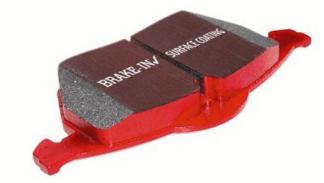 EBC Redstuff Rear Brake Pads 2003-2010 Subaru Impreza Models