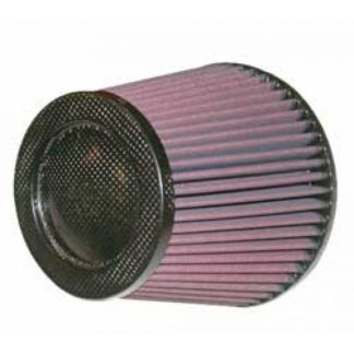 K&N Cone Filter 5in ID 6.5in Base 4.5in Top 5.625in Height Carbon Fiber - Universal