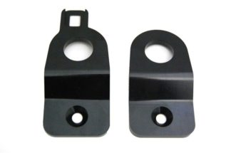 Torque Solution Black Radiator Stay Bracket Subaru WRX / STI 2002-2007