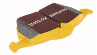 EBC Yellowstuff Rear Brake Pads 2002 Subaru WRX